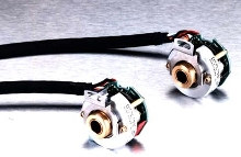 Encoders offer hollow hub for ease of installation.