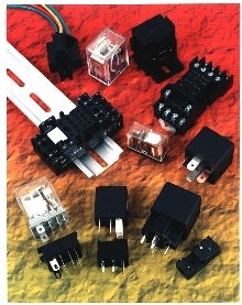 Relays come with compatible sockets.