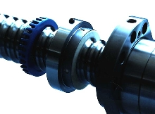 Ball Screw Wiper protects against contaminants.