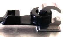 Cable-Tie Hook provides secure and removable mounting.