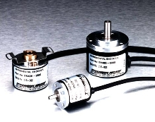 Incremental Encoders provide positioning accuracy.