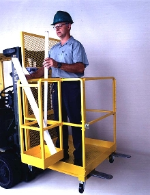 Work Platforms provide 1,000 lb capacity.