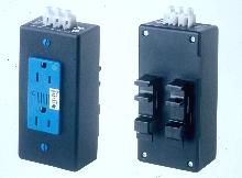Surge Protection Module mounts on DIN rails.