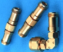 RF Coaxial Adapters feature metrology-grade construction.