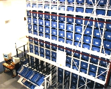 Handling System supports pallet, case, and piece picking.