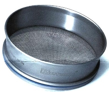 Test Sieves meet or exceed ISO standards.