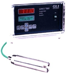 Analyzer provides suspended solids measurements.