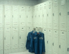 Double Tier Lockers can be used where floor space is limited.