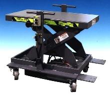 Lift Table installs printing presses.