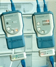 Network Cable Testers are stand-alone units.