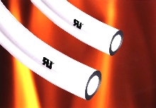 Plastic Tubing resists heat and flames.