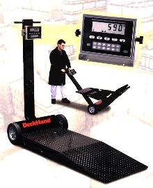 Portable Floor Scale is operated by one person.