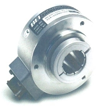 Hollow Shaft Encoder has installed length of 2 in.