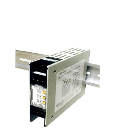 DIN-Rail Interface Converter works with RS232, RS422 and RS485.