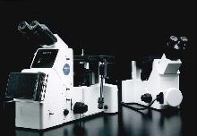 Metallurgical Microscope handles brightfields and darkfields.