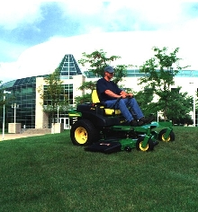 Commercial Mowers handle open fields and tight spaces.