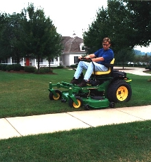 Lawn Mowers suit business and industrial complexes.