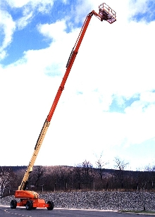Boom Lift reaches up to 135 ft.