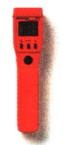 Infrared Thermometer has laser pointer for accurate targeting.