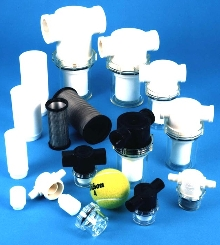 Vacuum Filters range in size from 4.27 to 39 sq in.
