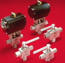 Ball Valves and Actuators suit severe duty applications.