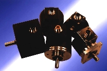 Encoders are available with connectors.