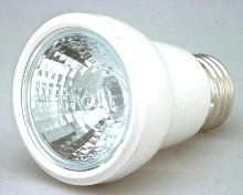 Electronic Compact Reflector has screw-base socket.