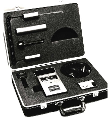 Sonic Leak Detector can be used with air or contact probe.