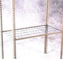 Wire Decking suits light duty storage applications.