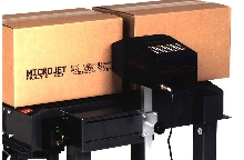Inkjet Printer codes directly on corrugated surfaces.