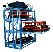 Roll-out Shelves have safety interlock.