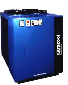 Water Chillers have capacities to 58 tons.