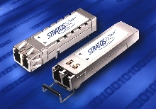 Optical Transceivers comply with Infiniband standard.