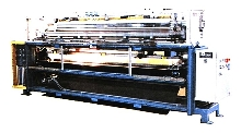 Splicing/Ironing Machines have in- or off-line designs.