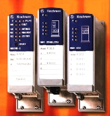 Ethernet Switches fit on DIN rail.