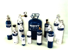 Calibration Gases come in throw-away containers.