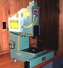 Toggle Press generates 10 tons of force.
