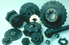 Torsional Couplings stop vibration, absorb loads.