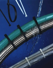 Cable Ties are unaffected by water and most chemicals.