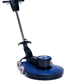 Floor Burnisher provides dust-free operation.