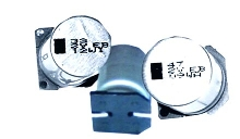 High Voltage Capacitor handles up to 450 Vdc.