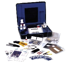 Termination Kit is designed for fiber optic connectors.