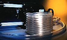 Tubing lasts up to 800 hrs in peristaltic pumps.