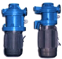 Sealless Pumps have chemically inert PFA lining.