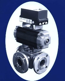 Ball Valve reduces number of valves in system.