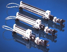 Reach and Pick Clamps are powered by one external valve.