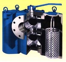 Pipeline Strainer simplifies basket change-out.