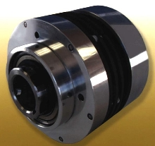 Conveyor Clutch has multiple-plate design in small package.