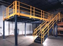 Modular Mezzanines increase floor space.