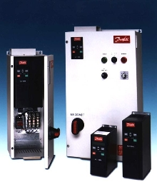 Motor Drives are available as packaged units.